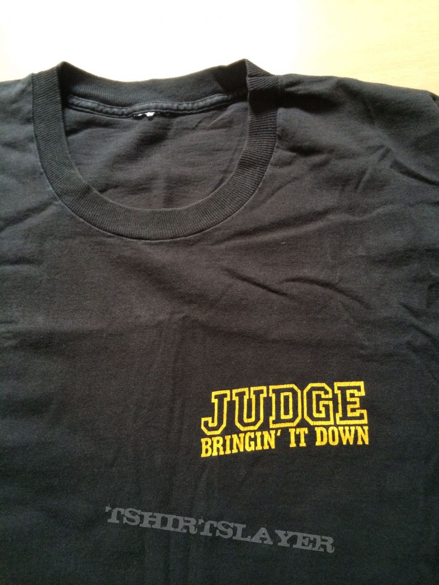 Judge OG Stormin Through 1990 Tourshirt