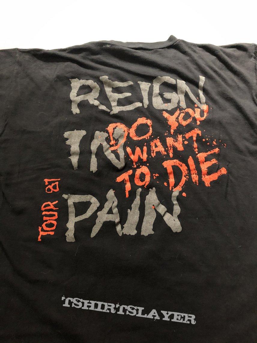 Slayer OG 1987 Reign in Pain Tourshirt