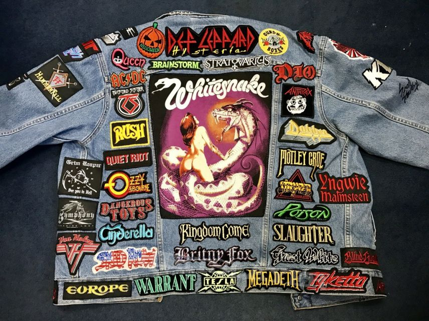 **update** 80's Hair Band & Power Metal Battle Jacket