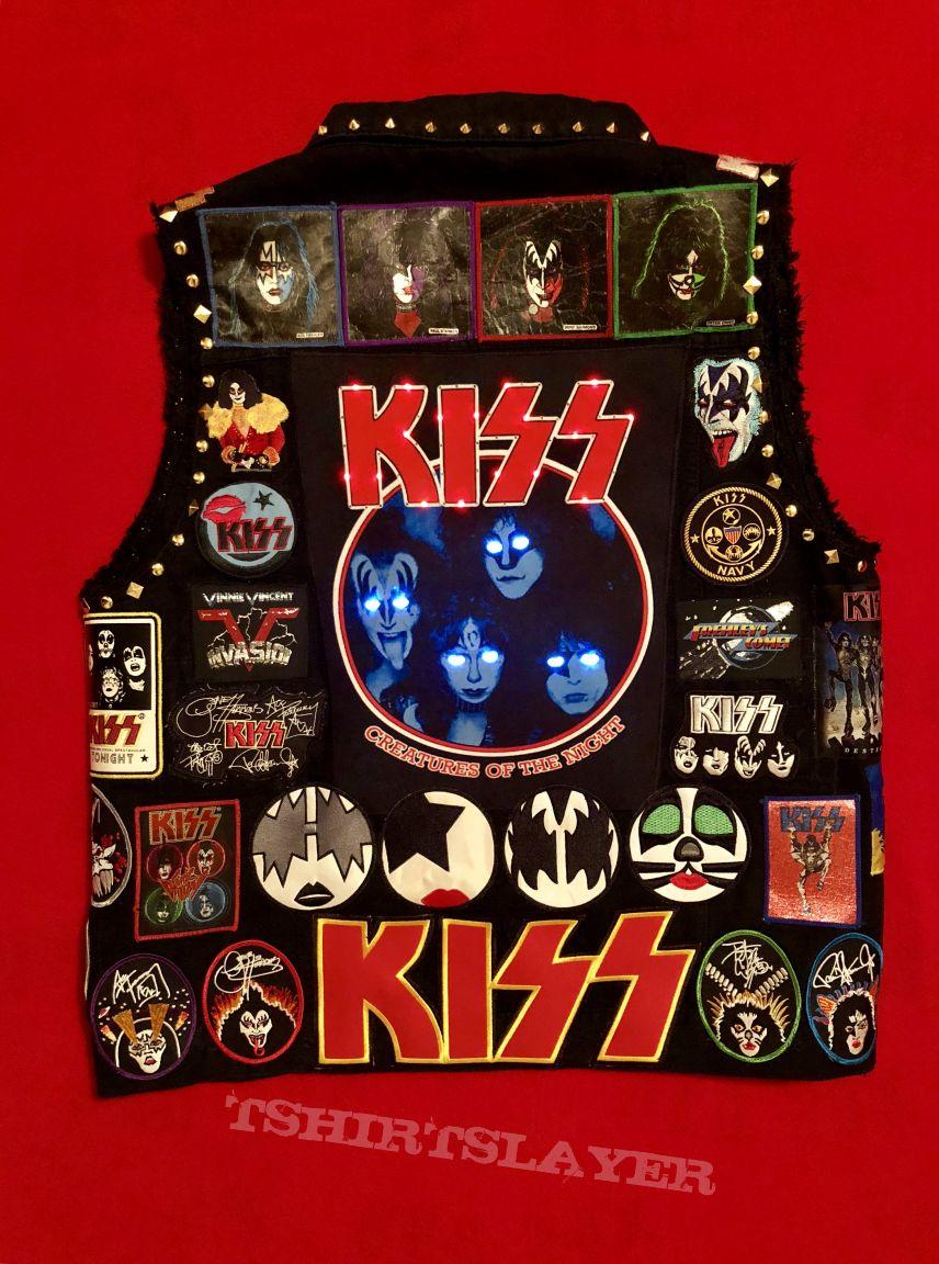 KISS Battle Vest #3, with more LED lights