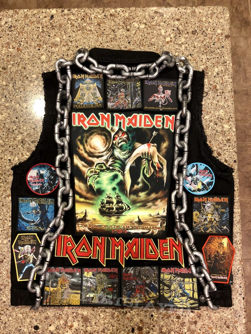 Iron Maiden Battle Vest