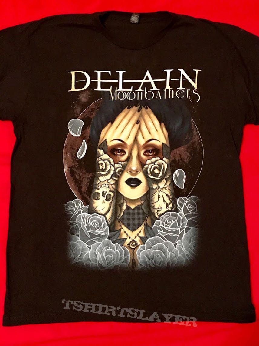Delain official concert t-shirt