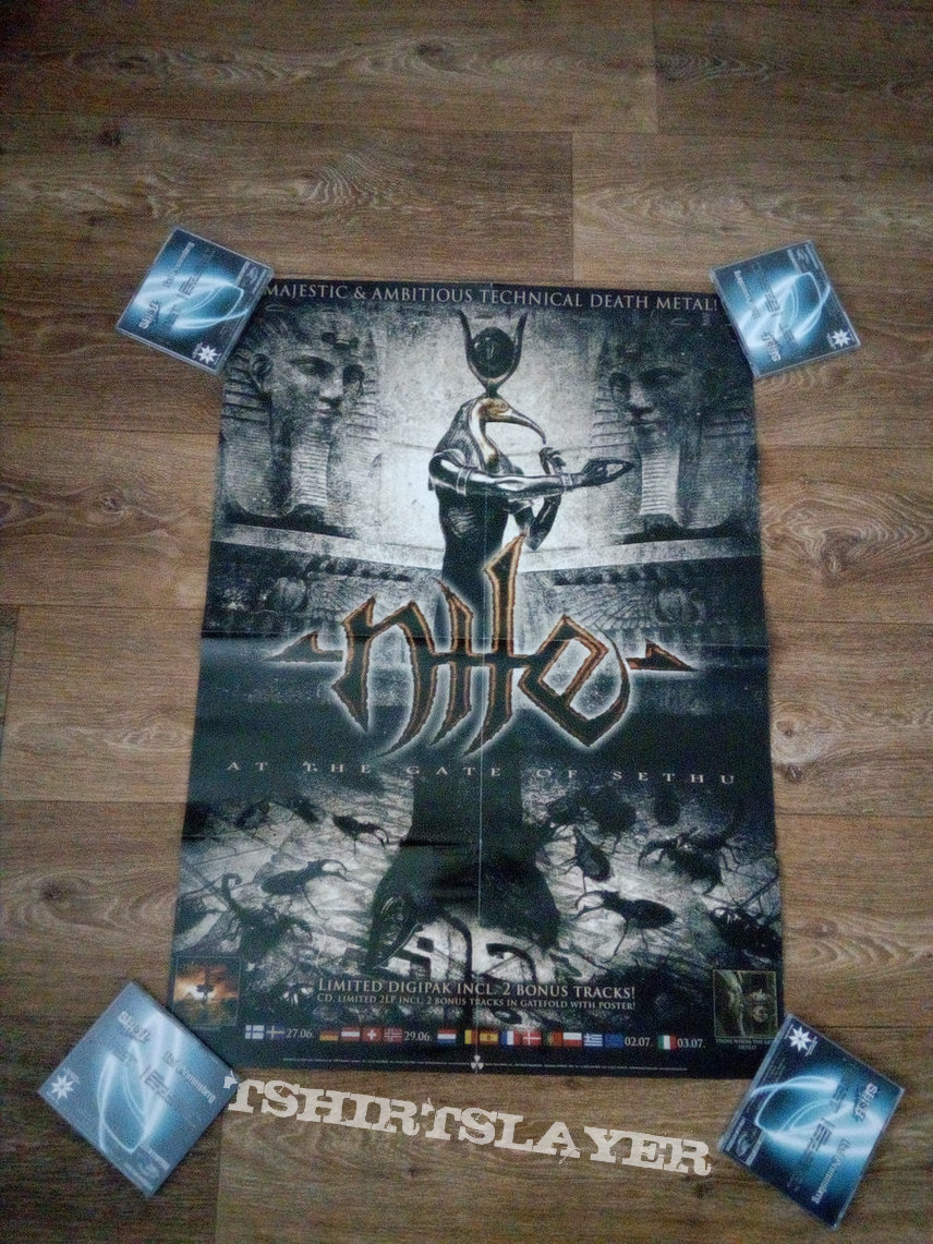 Nile - At the Gate of Sethu (A1 poster)