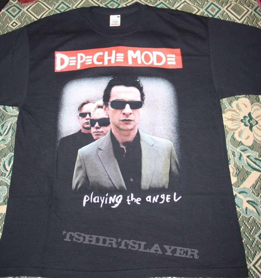 DEPECHE MODE - Playing The Angel - Band Formal