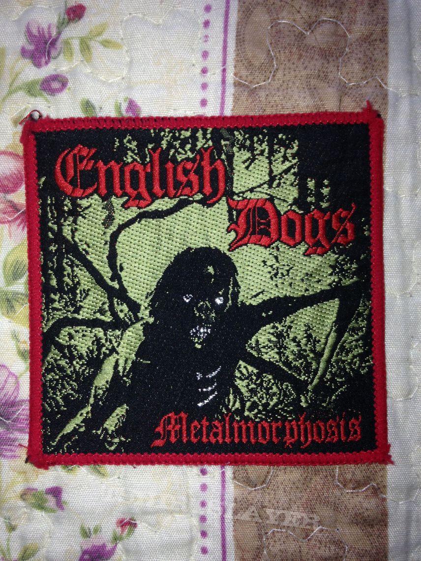English Dogs - Metalmorphosis vintage patch