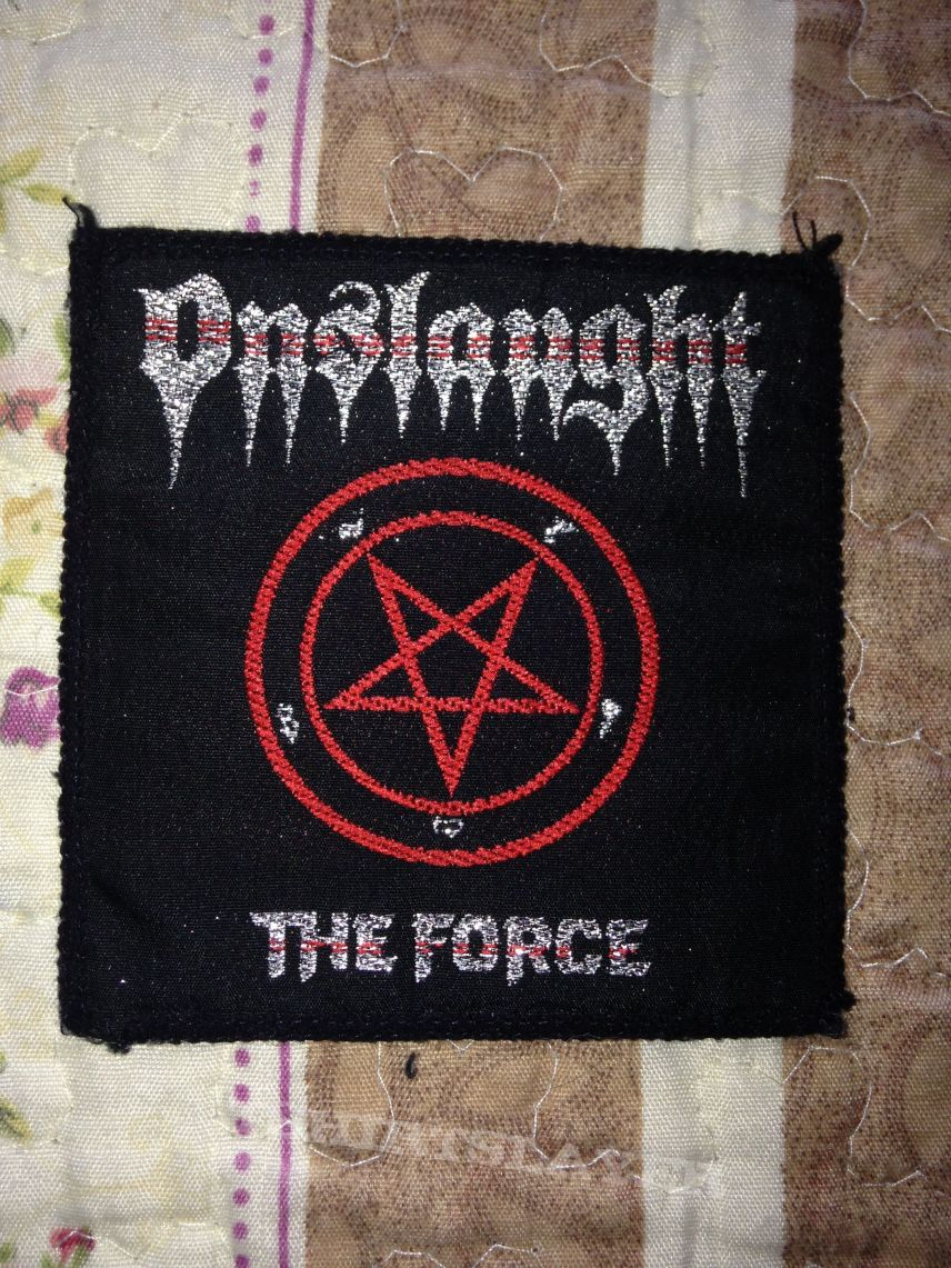 Onslaught - The force vintage patch