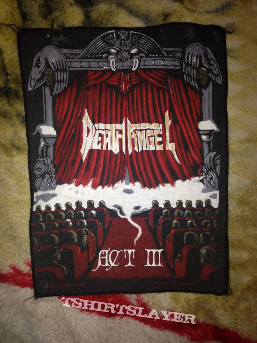 Death angel back patch