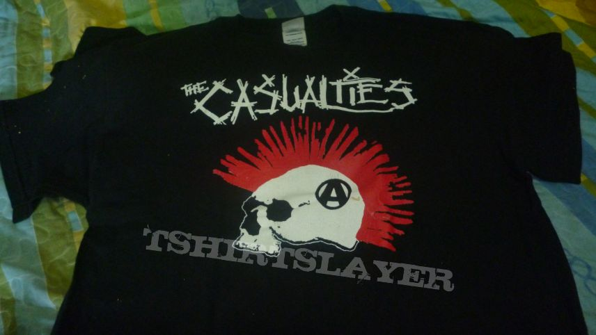 """The Casualties """"Anarchy"""" t shirt"""
