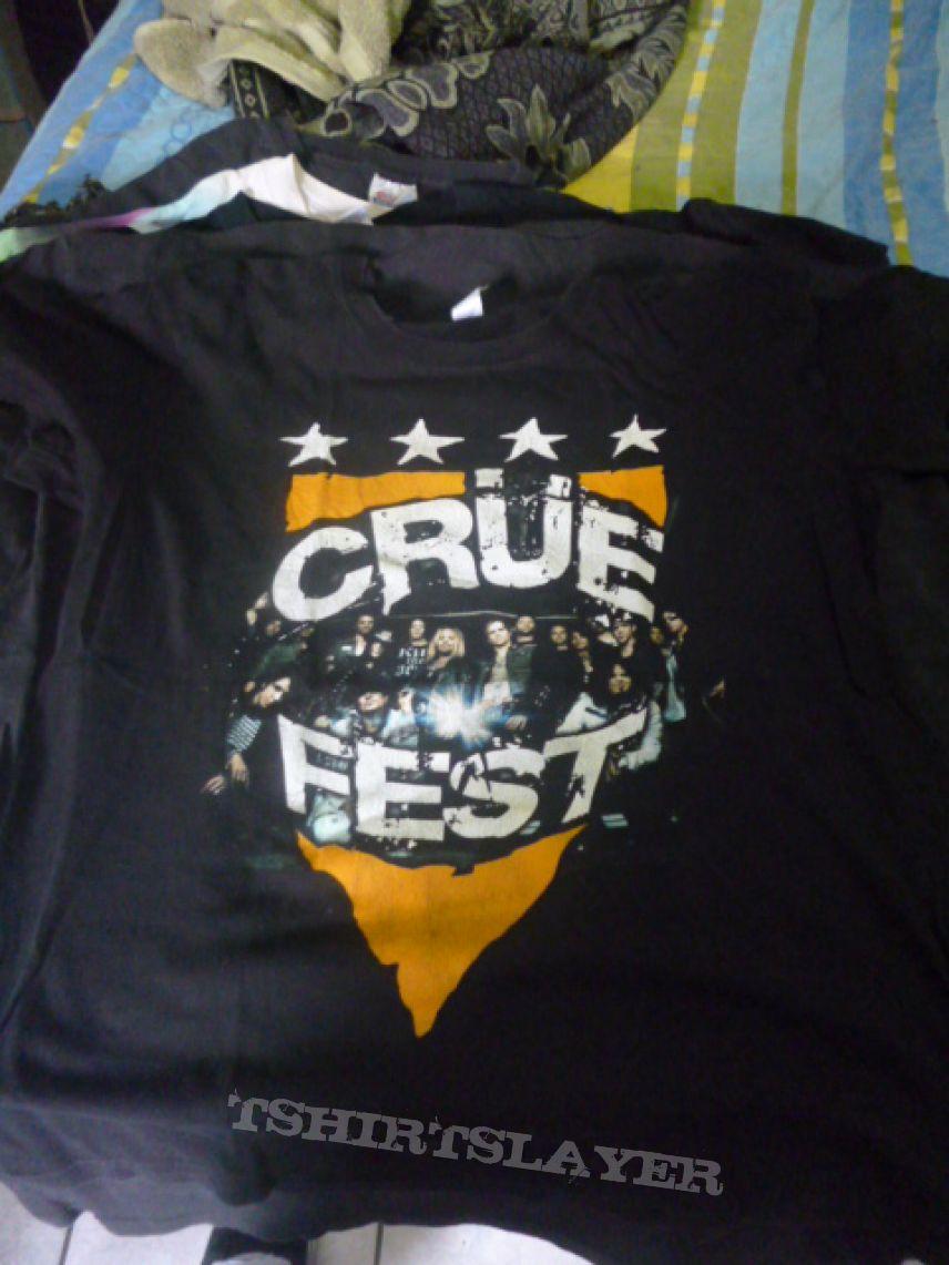 Crüe Fest - Mötley Crüe t -shirt