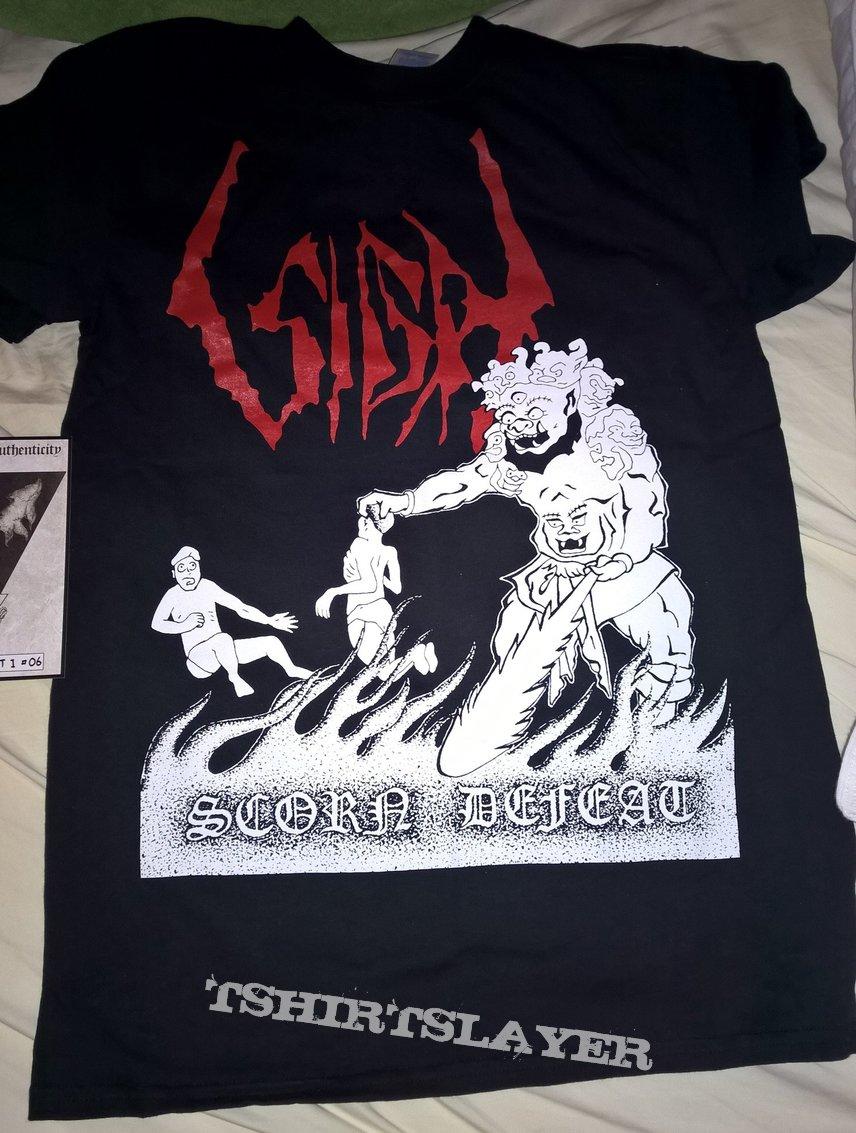 Sigh Scorn Defeat Version 1 Shirt