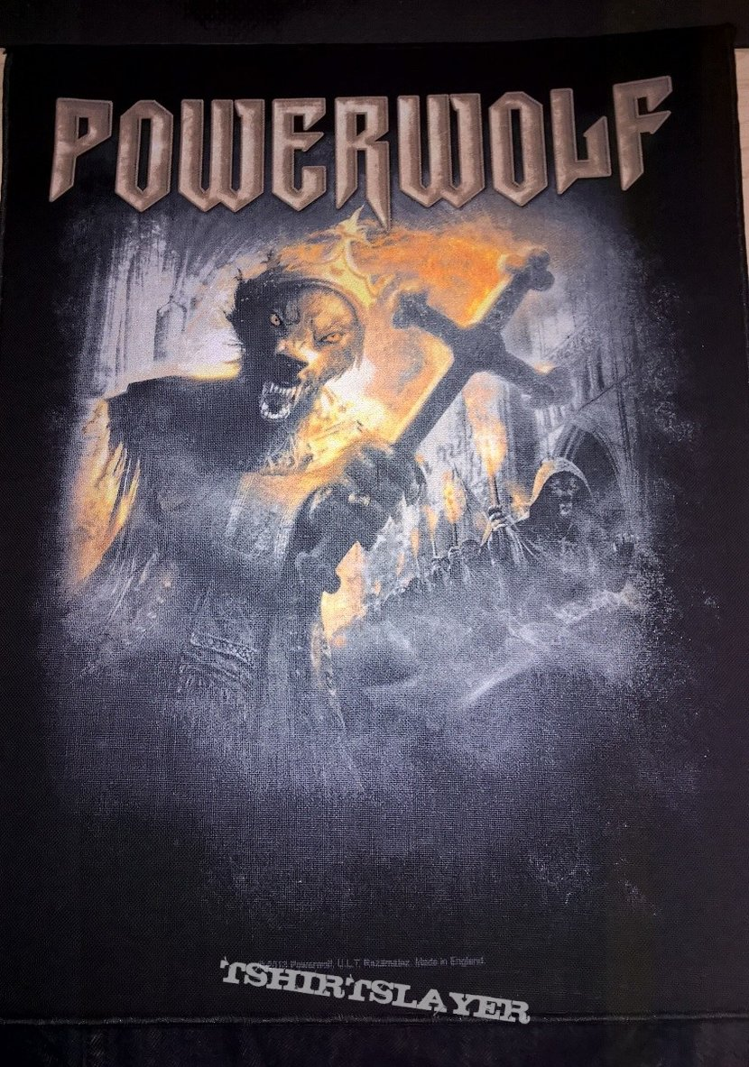 Powerwolf Preachers of the Night Backpatch