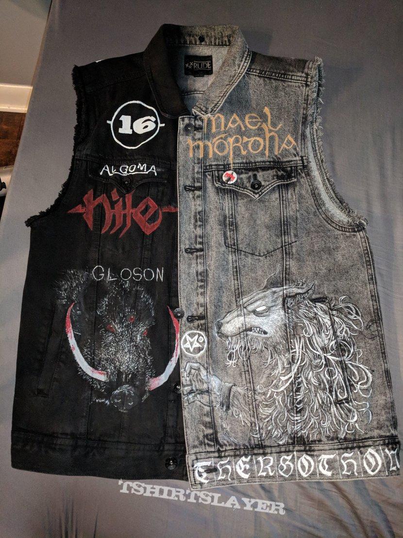 Paint Only DIY Vest Update #1