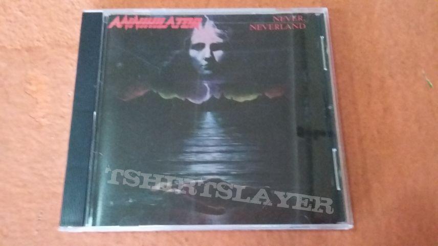 Annihilator Never, Neverland cd