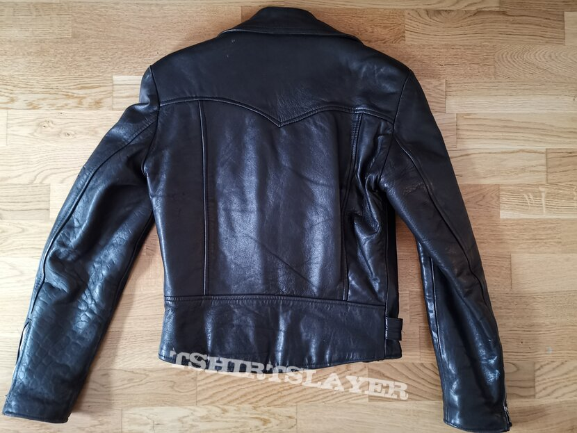 Leather jacket made in england