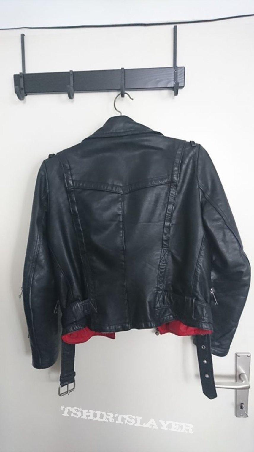 Jofama Leather Jacket Size 36
