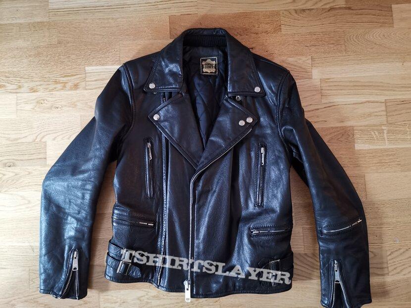 Leather jacket echtes Leder