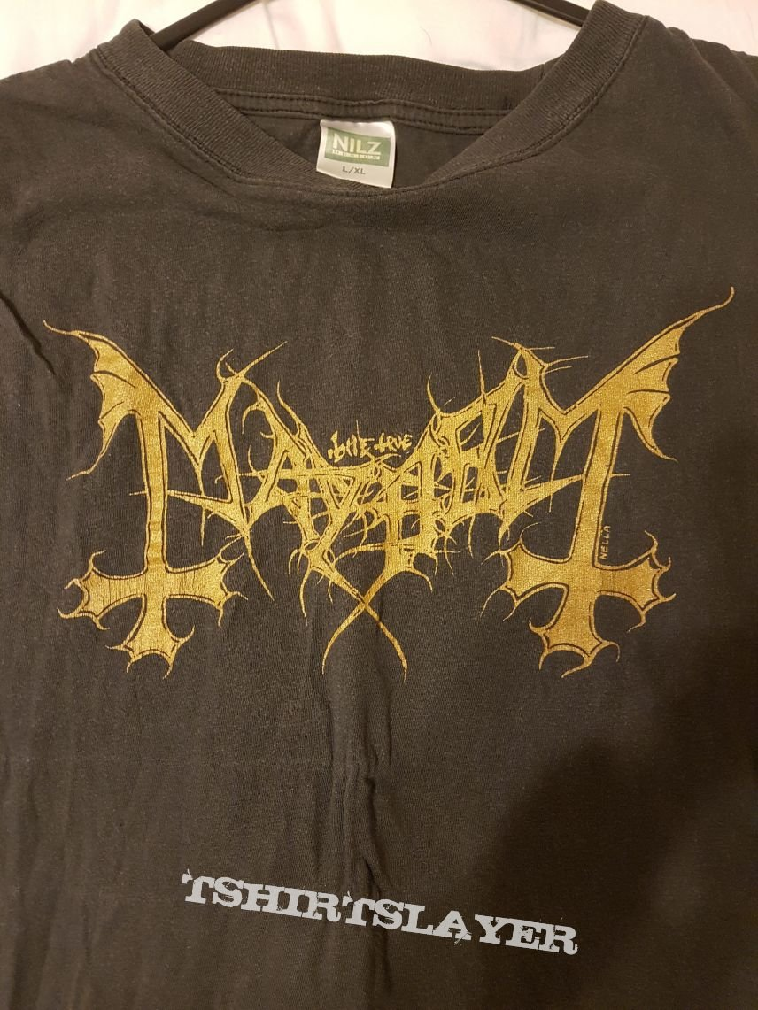 Mayhem 1993 helvete print
