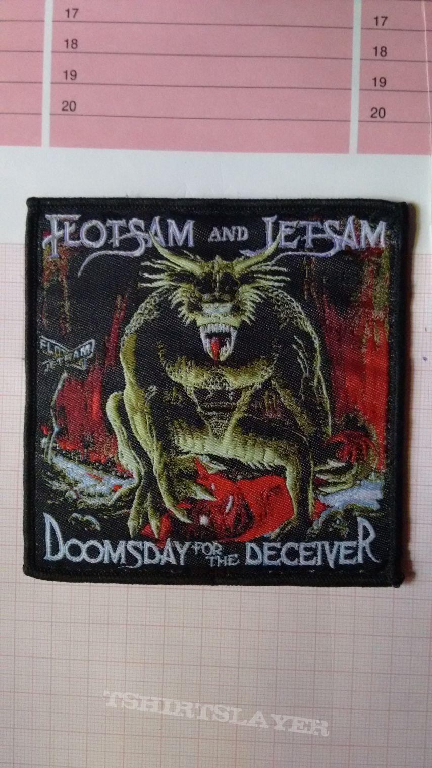 Official Flotsam & Jetsam woven patch