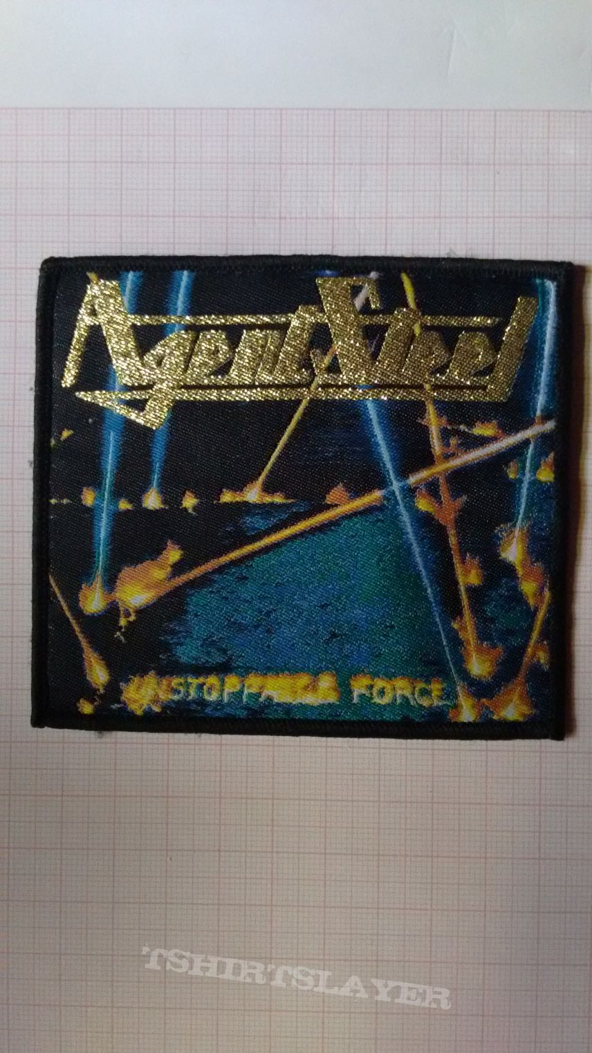 Official Agent Steel Unstoppable Force woven patch