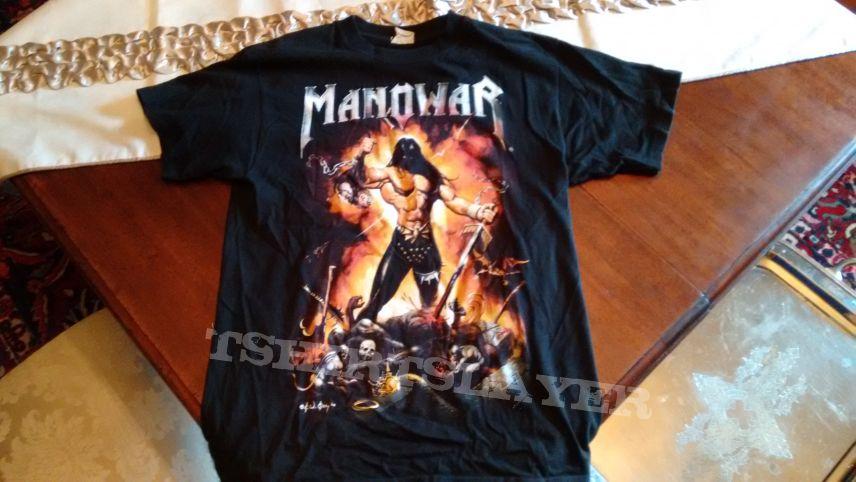 Manowar - Warriors Of The World 2002 Tour Shirt