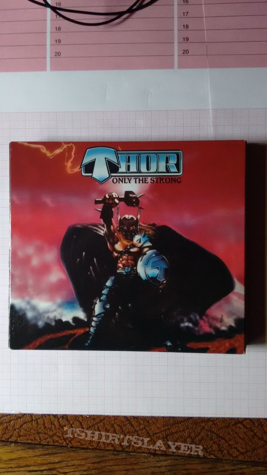 Thor - Only The Strong CD + DVD