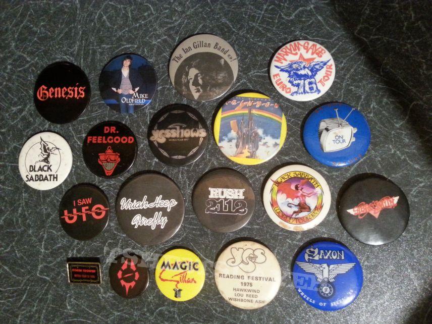 Genuine Vintage 1970's Pins