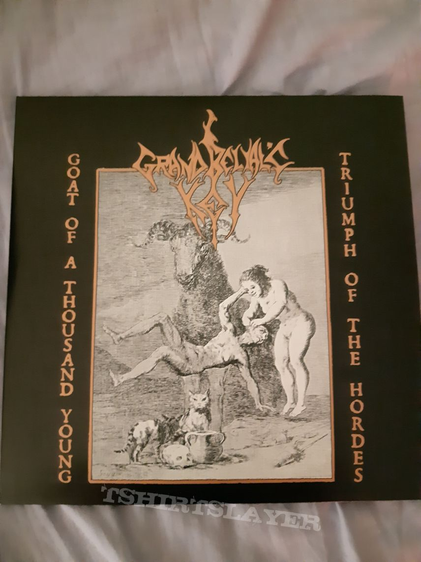 Grand Belial's Key – Goat Of A Thousand Young / Triumph Of The Hordes LP