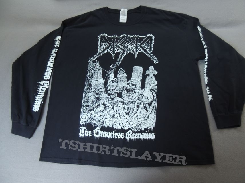 Disma - The Graveless Remains Longsleeve
