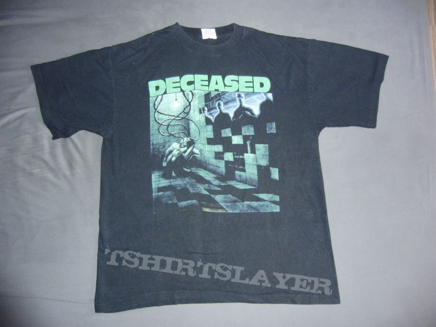 Deceased - The Blueprints for Madness Shirt | TShirtSlayer