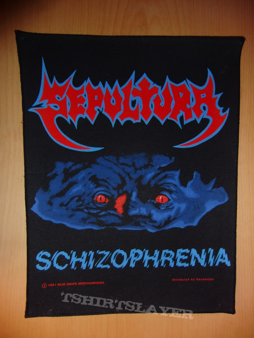 Sepultura - Schizophrenia Backpatch