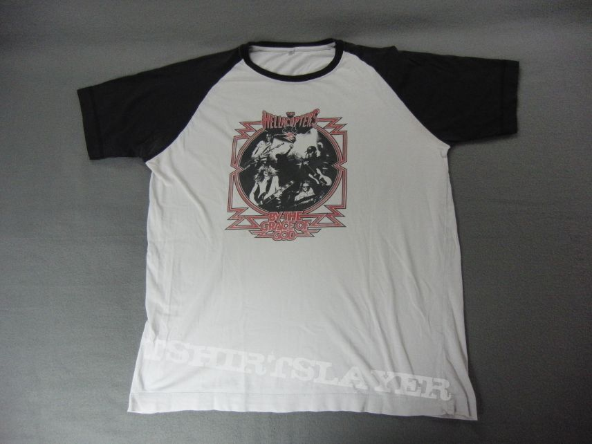 NEW /& OFFICIAL! T-Shirt Red The Hellacopters /'Grace Cloud/'