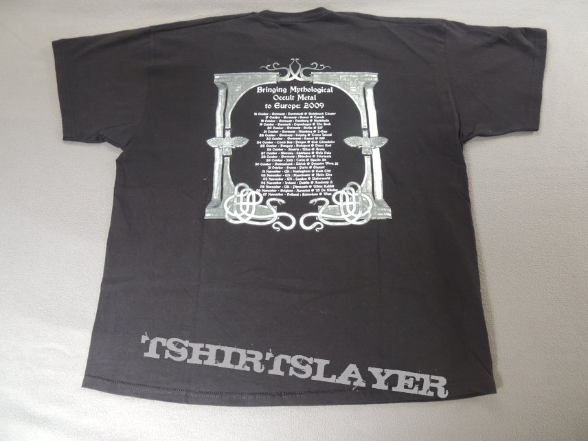 Absu - European Tour 2009 Shirt
