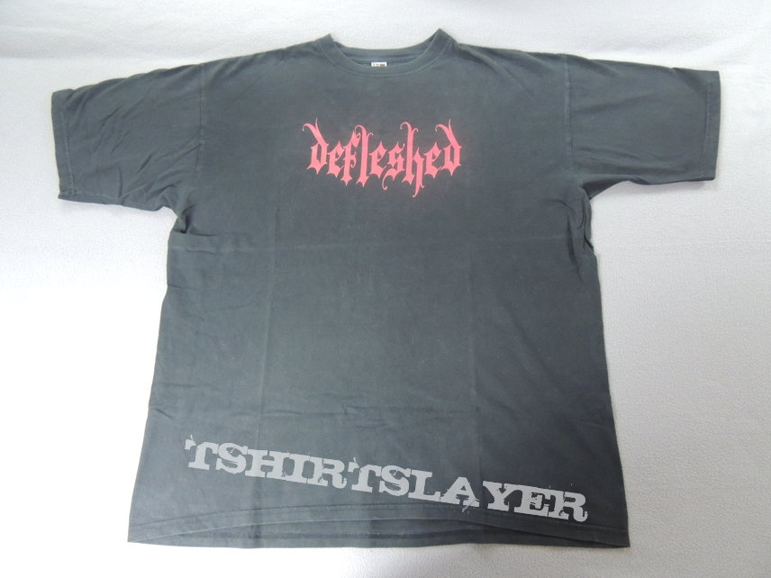 Defleshed - Red Logo Shirt