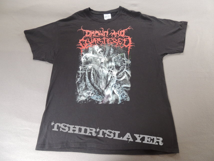 Drawn And Quartered - Feeding Hell´s Furnace Shirt