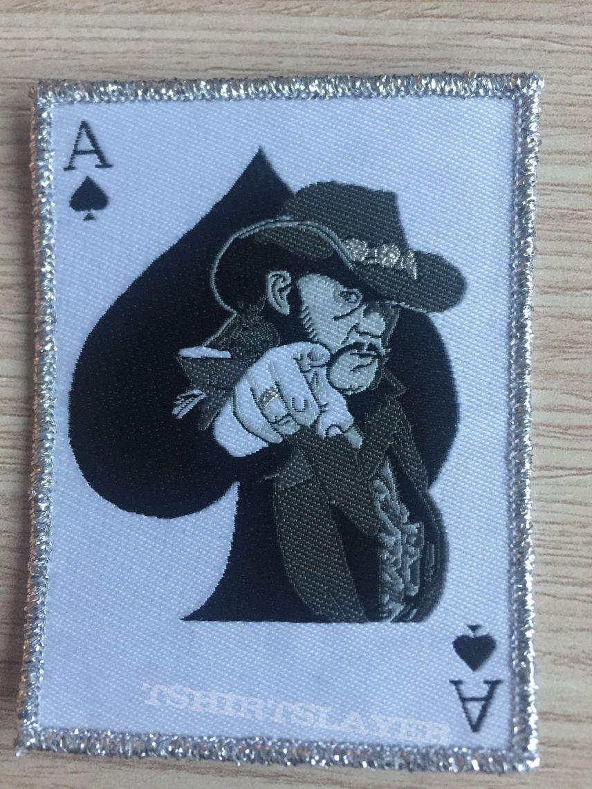 Lemmy - Ace Silver Border
