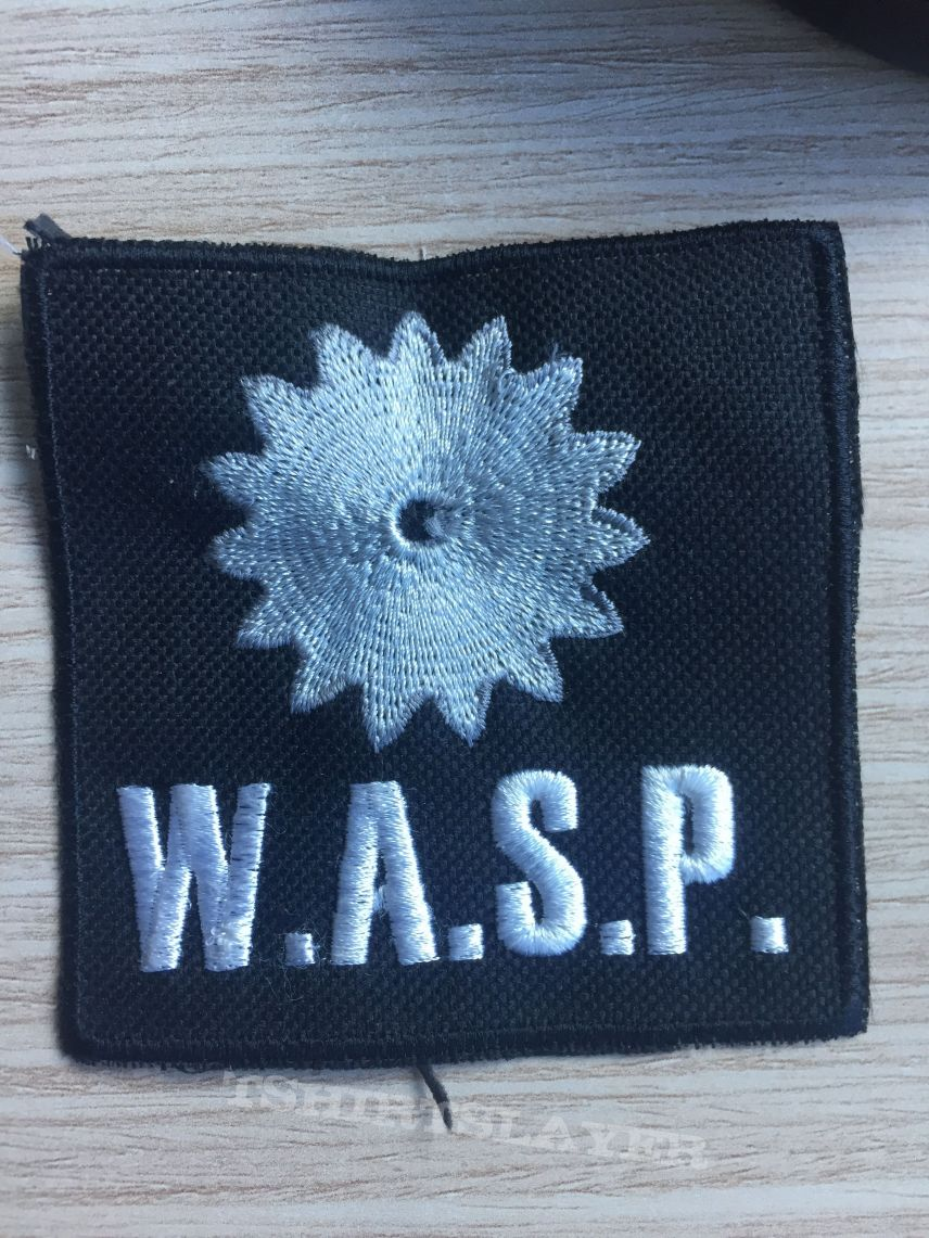WASP - bootleg patch