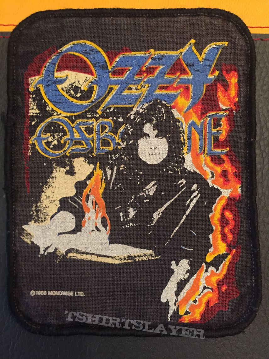 Ozzy - printed patch