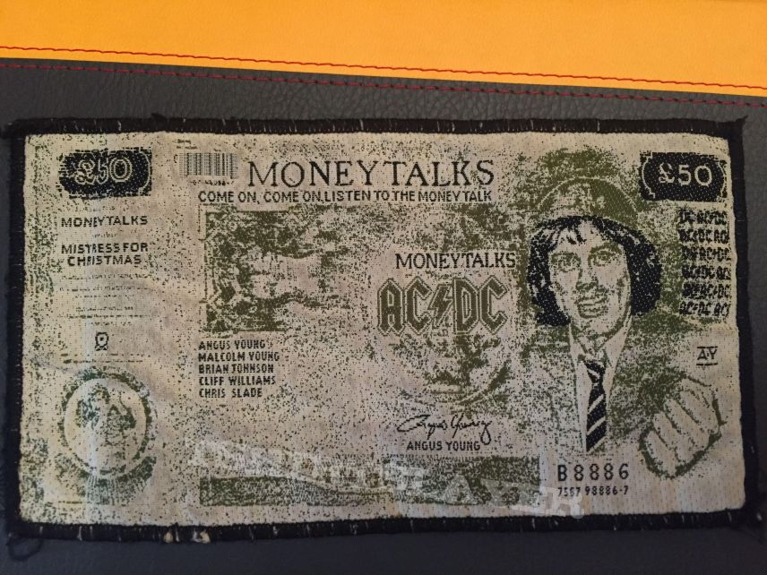 AC/DC - Moneytalks Patch