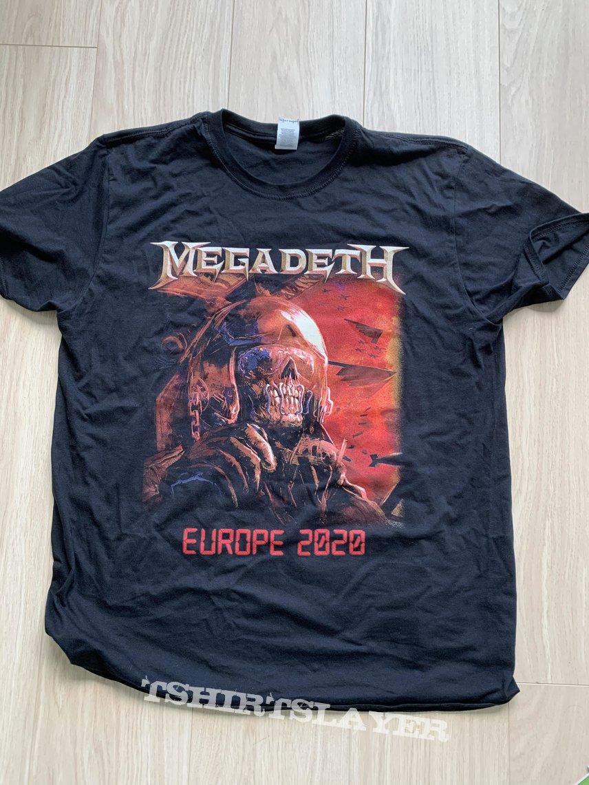 Megadeth - 2020 tour t-shirt