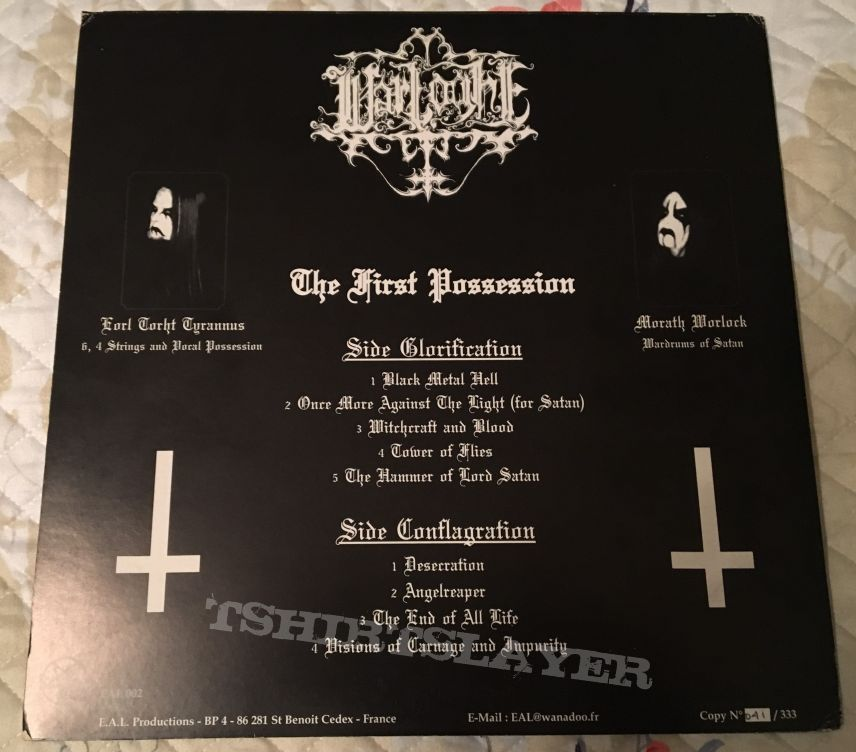 Warloghe ‎– The First Possession LP