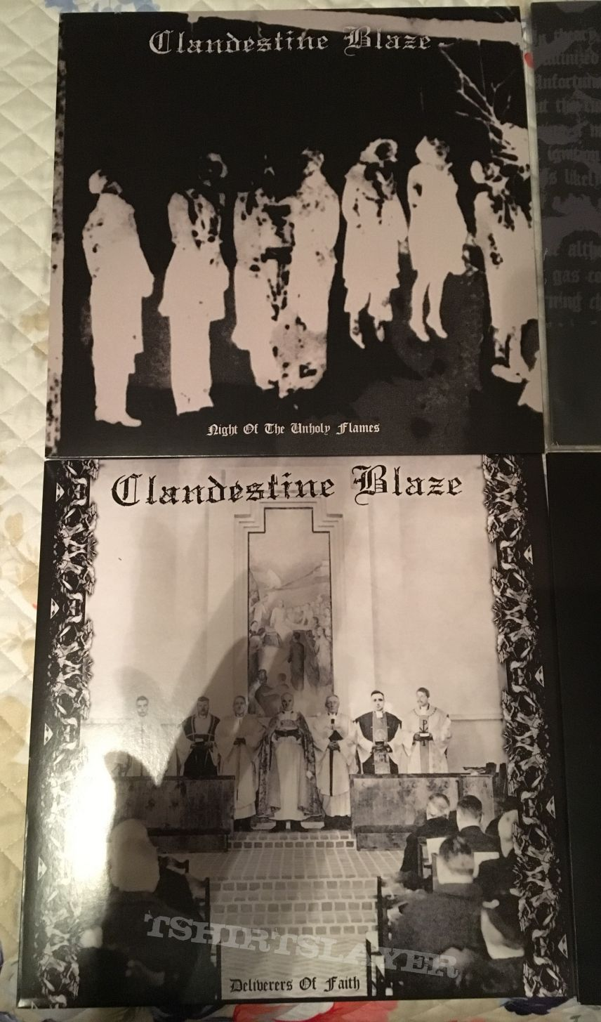 Clandestine Blaze 6 LP lot