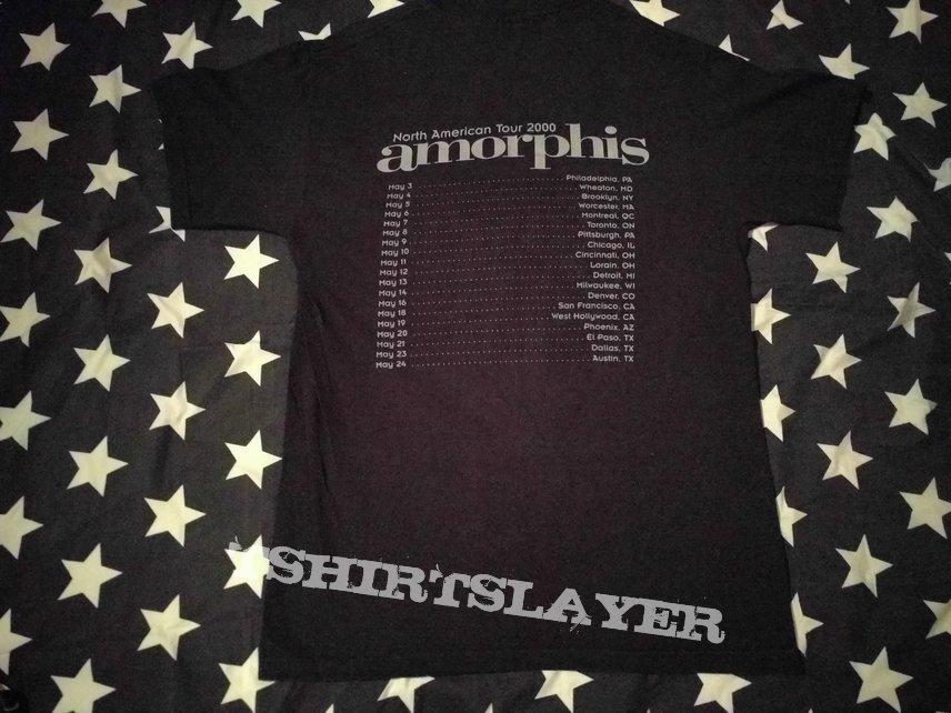 Amorphis elegy north american tour 2000