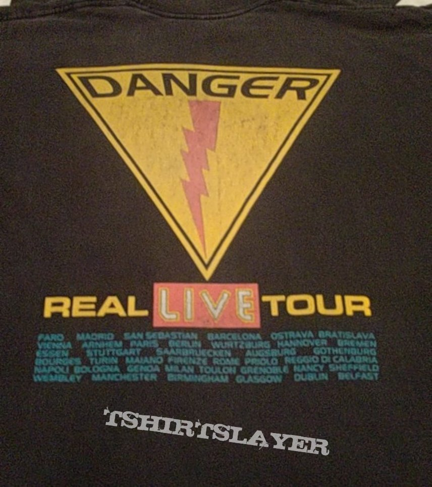Iron maiden real ive tour 1993