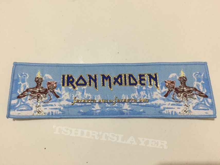 Seventh Son Stripe Blue Border