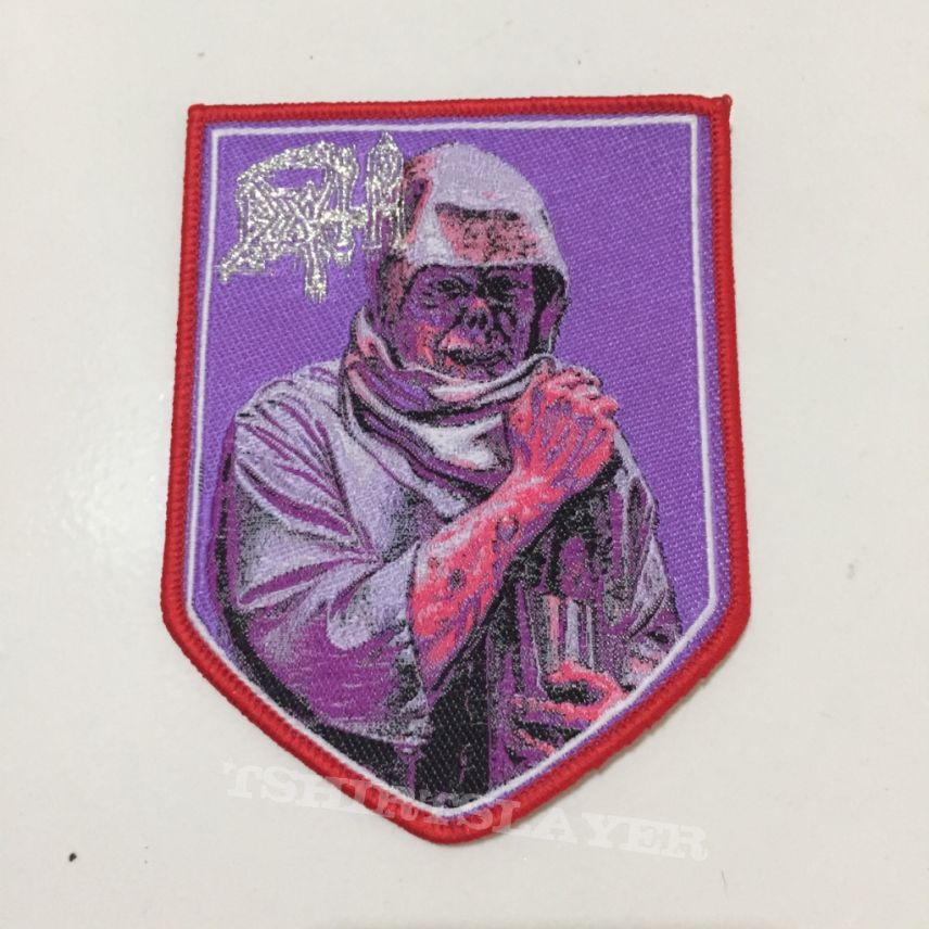 Leprosy Shield Patch Red Border