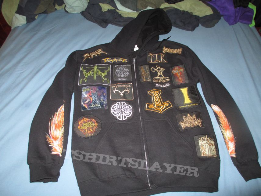 """""""Forests, Vikings and Circle Pits"""" Hoodie"""