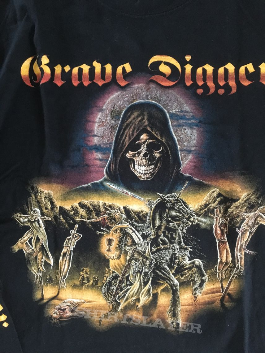 Grave Digger - Knights Of The Cross Longsleeve