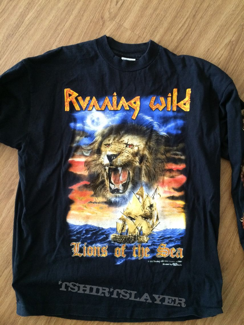 Running Wild - The Lions Of The Sea LS