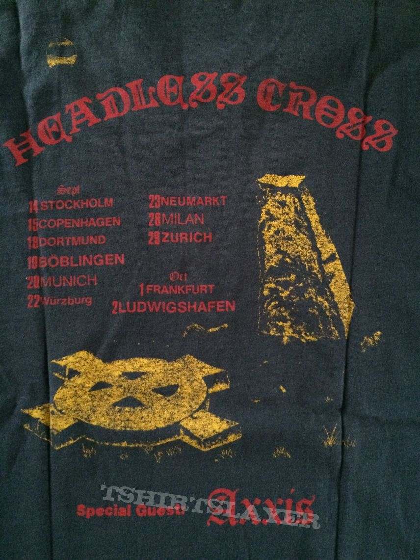 Black Sabbath - Headless Cross Tourshirt
