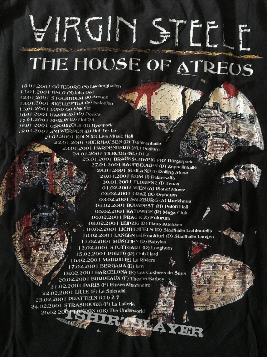 Virgin Steele - House of Atreus Tourshirt